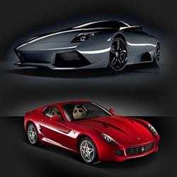 Prestigious sport cars